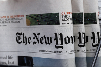 Recettes numériques supérieurs à celles du papier au New York Times)