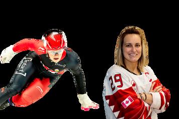 L'athlète québécois deladécennie: Kim Boutin c.Marie-Philip Poulin