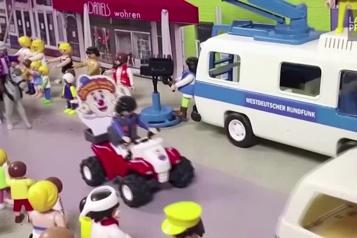 Un carnaval Playmobil pour divertir en temps de pandémie)
