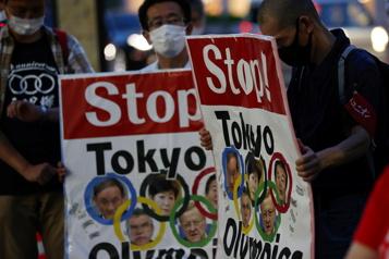 Jeux de Tokyo Les opposants japonais «impuissants» mais toujours «en colère»)