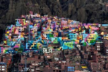 La Paz Le quartier coloré de Chualluma attend le retour des touristes)