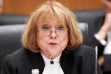 Visée par une plainte, la juge en chef de la Cour d'appel reporte une conférence