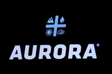 L'action d'Aurora Cannabis plonge