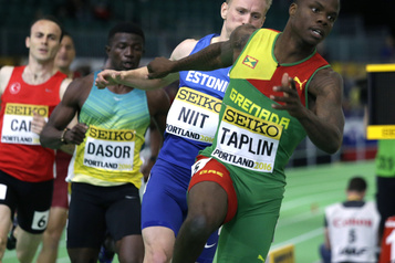 Athlétisme : Bralon Taplin suspendu quatre ans pour avoir évité un test de dopage)