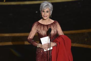 78esoirée des Golden Globes Jane Fondaen six temps )