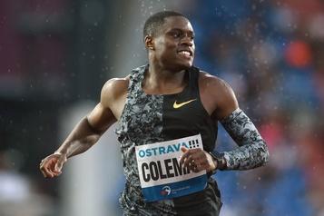 Dopage: le sprinteur vedette Coleman pense qu'il sera blanchi