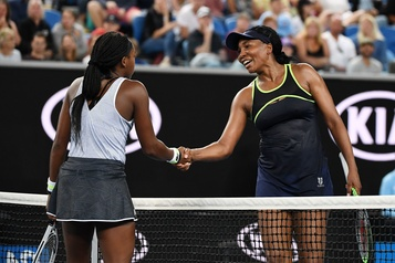 Coco Gauff bat Venus Williams à l'Open d'Australie