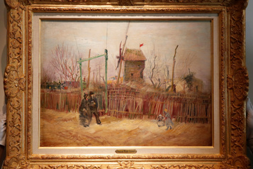 Un Van Gogh adjugé13millions d'euros à Paris)