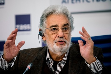 Placido Domingo « heureux » de chanter à Moscou