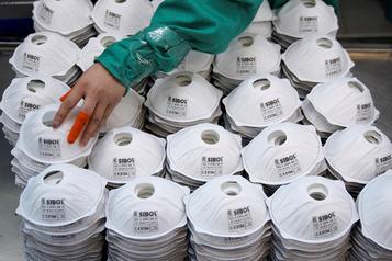 Près de quatre milliards de masques exportés par la Chine