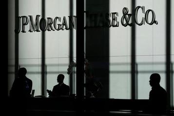 JPMorgan Chase dépasse les attentes malgré des taux d'intérêt bas