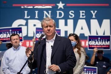 Bastion conservateur de Caroline du Sud La réélection au Sénat de Lindsey Graham paraît menacée)