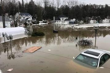 Rivière L'Assomption sous surveillance  Inondations à Saint-Félix-de-Valois)