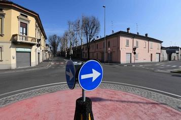 Coronavirus: des airs de villes fantômes en Italie