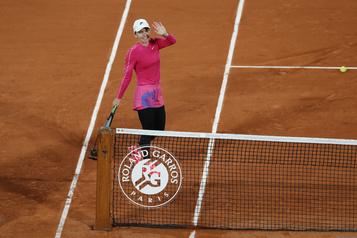 Roland-Garros Halep passe au deuxième tour malgré un lent départ)