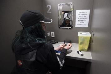 Les consommateurs de drogue en plus grand danger durant la pandémie)