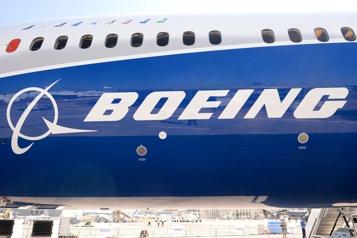 États-Unis Amende de 6,6millions à Boeing pour manquements à la sécurité)