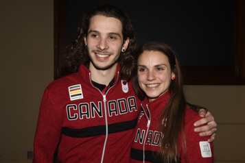 Kasandra Bradette et Samuel Girard Après le sport, la famille )
