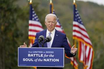 Présidentielle américaine À une semaine de l'élection, Biden promet d'endiguer la COVID-19)