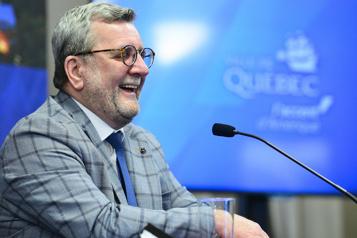 Mairie de Québec Régis Labeaume: «La politique, c'est fini» )