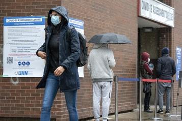 COVID-19 La croissance de la pandémie semble ralentir en Ontario )