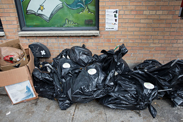 Le Québec produit toujours plus de déchets