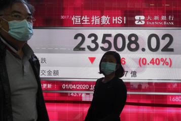 Les marchés mondiaux sur la défensive après les chiffres de l'emploi américain