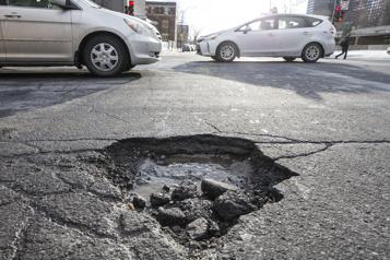 Étude du CAA Plusieurs routes en mauvais état au Canada, surtout au Québec)