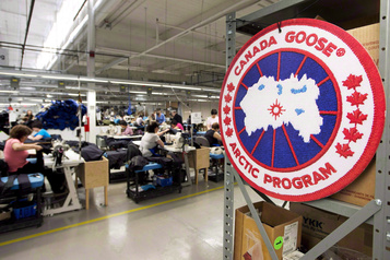 Canada Goose affiche un profit de 2,5millions)