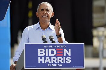 Présidentielle américaine Obama supplie les démocrates de ne pas être «paresseux»)