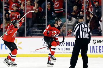 Le premier but de Jack Hughes donne la victoire aux Devils