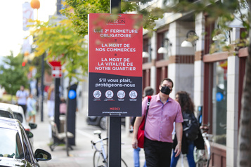 Promenade Masson «S'il y a unedeuxième fermeture, ça va faire mal» )
