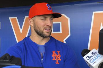 Camp d'entraînement printanier Tim Tebow à nouveau invité par les Mets)