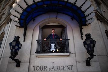 La Tour d'Argent rouvre après six mois de confinement)