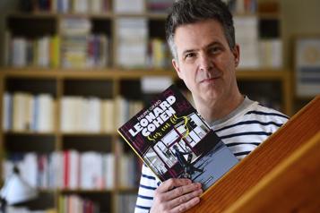 Bande dessinée Philippe Girard: dans la tête de Leonard Cohen)