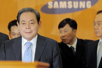 Samsung annonce le décès de son président Lee Kun-hee)