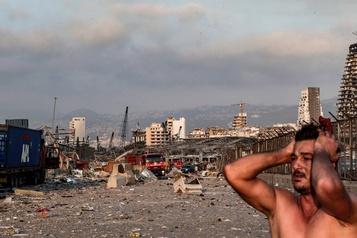 Explosions à Beyrouth: des Libanais racontent l'horreur)