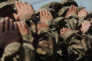 Irak Trois roquettes ciblent des soldats américains à l'aéroport de Bagdad)