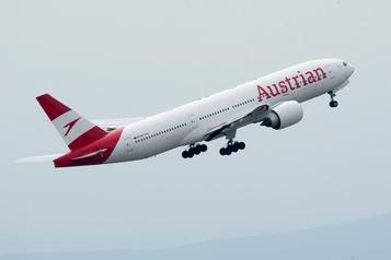 Austrian Airlines reprend ses vols le 15juin)