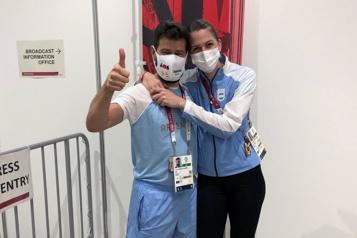 Jeux de Tokyo Une sabreuse argentine accepte la demande en mariage de son entraîneur)