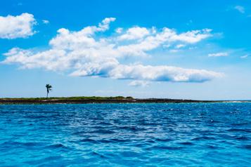 Archipel des Bahamas Trois naufragés sont sauvés sur une île déserte)