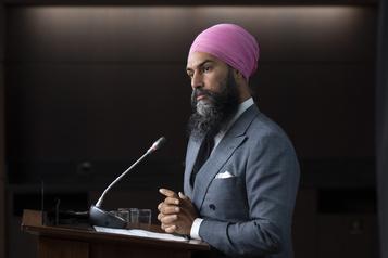 Discours du Trône:Singh pose deux conditions)