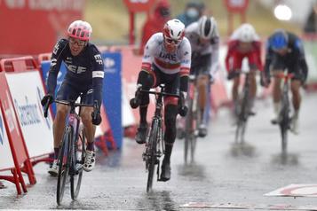Woods passe des derniers aux premiers à la Vuelta)