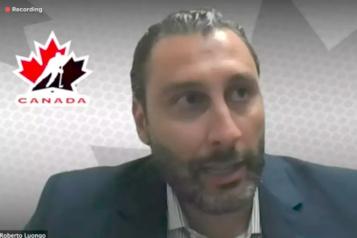 Championnat du monde Roberto Luongo sera le DG d'Équipe Canada)