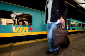 Les partis favorables au projet de VIA Rail