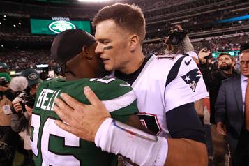 Les Patriots servent une correction de 33-0 aux Jets