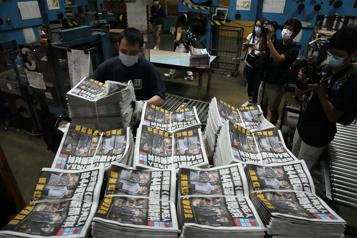 HongKong Le journal Apple Daily, critique du pouvoir chinois, cessera de paraître)