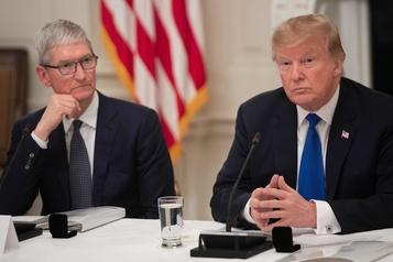 Donald Trump évoque de gros investissements d'Apple aux États-Unis