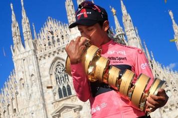 Egan Bernal gagne son premier Tour d'Italie)