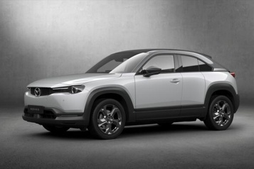 Mazda Le MX-30 aura une version hybride rechargeable à moteur rotatif)